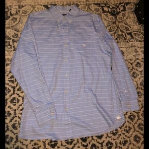 Chaps men's shirt size xl, easy care twill